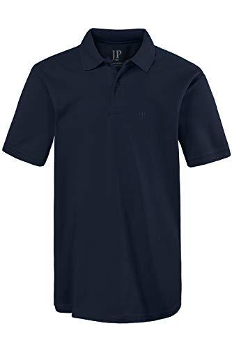 JP 1880 Herren, Poloshirt , Halbarm, Unifarben, Farbe: Blau (blau 70), Gr. 3XL