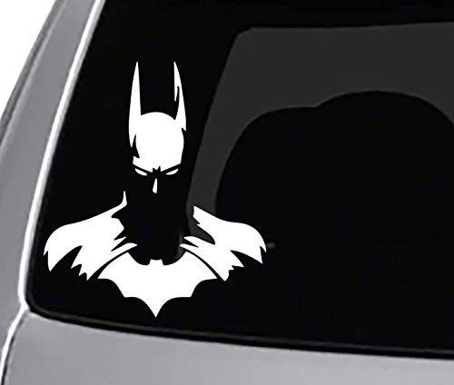 HK Distributers Batman Decal Styling Decoration for Car Accessories Laptop Wall Tool Box Window Truck Water Bottle Van Windshield Luggage Removable Motorcycle Bumper Sticker