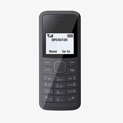 I KALL K73 144 Inch Display Single Sim Feature Phone Black