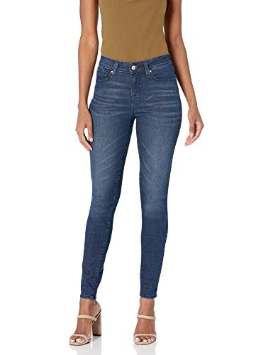 Signature by Levi Strauss & Co. Gold Label Women's Totally Shaping Skinny Jeans, Blue Laguna, 2