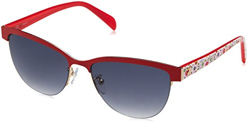 TOUS STO314-570357 Gafas de sol, Shiny Rose Gold, 57 para Mujer