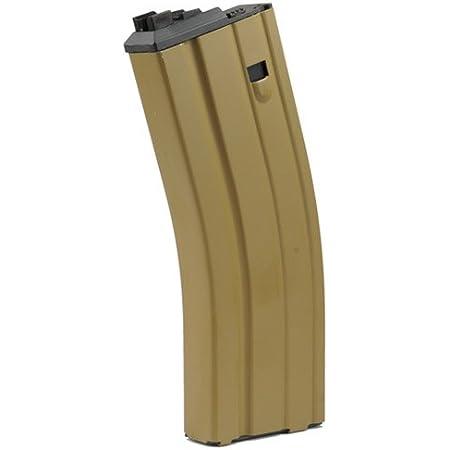 ガスブローバック用マガジン WE M4/SCAR-L/L85 オープンボルト専用 Ver.2(30連 TAN) MG-M4-TAN