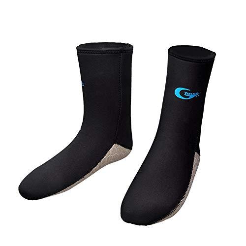 MDYYD Diving Socks Diving Socks Thick 5mm Non-Slip Warm Winter Socks Beach Socks Diving Supplies Snorkeling Socks Non-Slip Flexible Diving Socks (Color : Black, Size : 2XL)