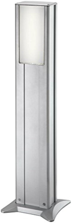 IVT Gartenleuchte 80cm Aluminium silber