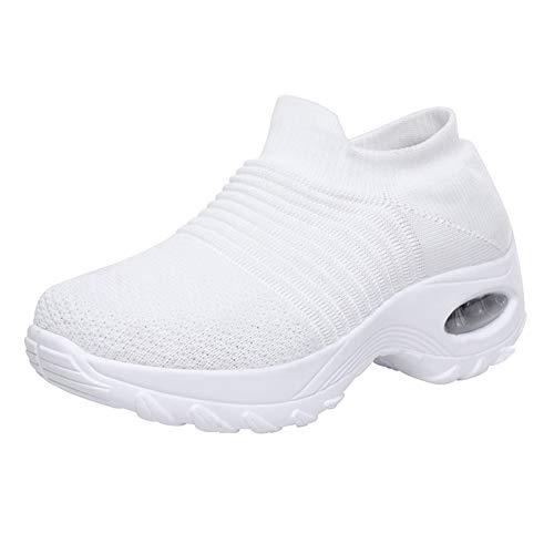 Sapatos de caminhada femininos, sapatos super macios para aumentar a altura para viagens ao ar livre, sapatos femininos almofadados para meninas dança jazz moderna, Sailsbury