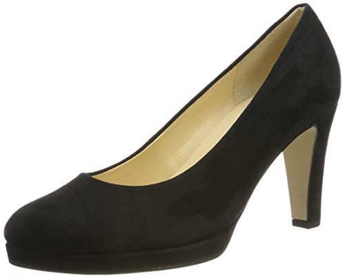 Gabor Shoes Damen Gabor Fashion Pumps, Schwarz (Schwarz 17), 41 EU
