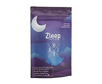 Zleep - Sleep Patches to Enhance Sleep Reduce Insomnia and Eliminate Tiredness