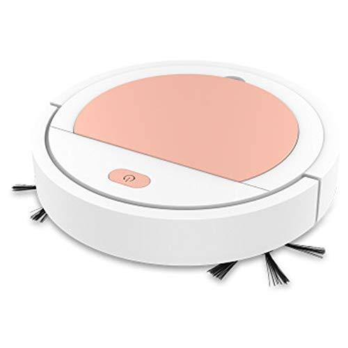 ZWWZ Smart Ultra-Thin Robot aspiradoras de aspiradoras de Barrido automático Limpiador de Casas Herramienta de Limpieza Homes Housework Intelligent Broom Sweeper-Pink MISU