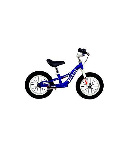 Grupo K-2 Bicicleta Sin Pedales De Equilibrio para Niños con Cuadro de Acero Resistente y con Freno Trasero y Manillar Ergonómico | Rueda de 12' | para Niños de 2 a 5 Años | Azul