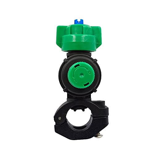 IENNSA Home Spray Tube Accesorio Pipa Abrazadera Anti Drip Garden Riego Agrícola Rociador Boquilla Herramienta Máquina Atomización Tractores
