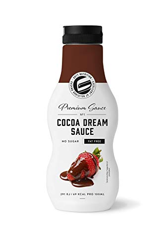 Got7 Sweet Premium Sauce - Dessertsauce mit wenig Kalorien - Perfekt zum Abnehmen (Cocoa Dream - Schokolade), 250 ml