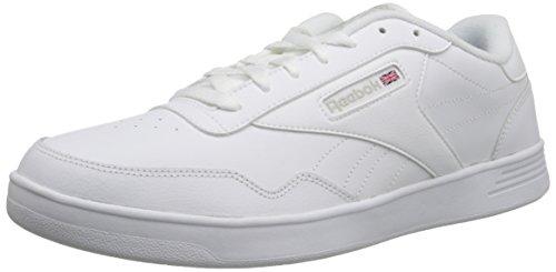 Reebok Men's Club MEMT Sneaker, White/Steel Wide, 9 4E US