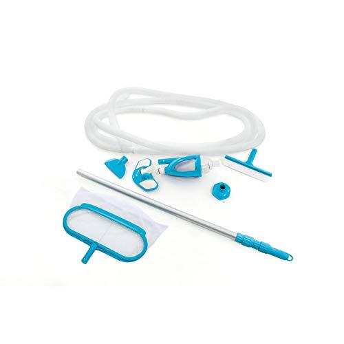 Intex 28003E Deluxe Kit de mantenimiento de piscina para piscinas sobre el suelo