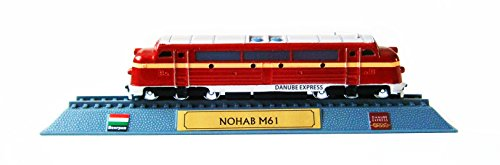 Eco Lokomotive NOHAB M61 Danube Express Standmodell 17cm Sammlermodell Train 15