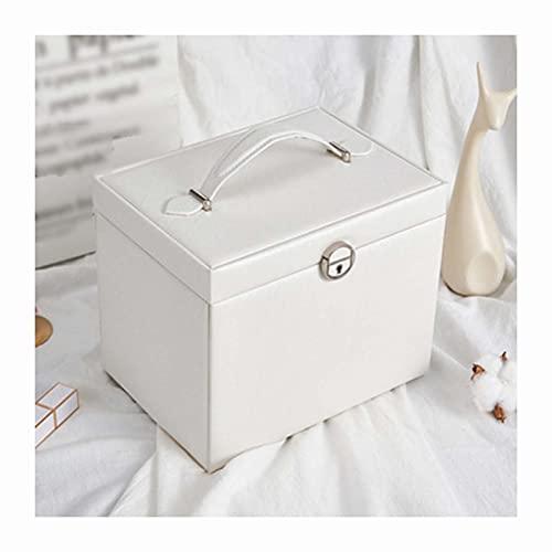 LQIAN Caja Joyero Caja de Joyas,Pendientes,Anillos y Collares joyeros para Pendientes