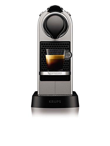 Krups YY2733FD Machine à Café Nespresso Citiz Espresso Lungo Capsules 19 Bars Réservoir 1L...
