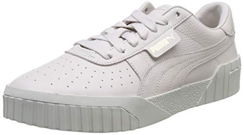 PUMA Cali Emboss Wn's, Zapatillas Deportivas para Mujer, Pastel Parchment, 36 EU