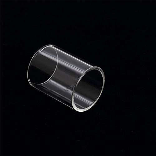 Qingtian-ceg 2 Stück Ersatz-Pyrex-Glasröhrchen für KangerTech EVOD PRO V2 Kit 22MM 4ML Zerstäuber,Frei von Tabak und Nikotin (Color : Clear)