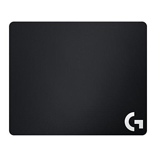 Logitech G240 Tapis de Souris Gamer en Tissu, Pour Souris Gaming Filaire ou sans Fil, 340 x 280mm, Epaisseur 1mm, Friction de Surface Modérée, Texture Homogène, Base en Caoutchouc Stable - Noire