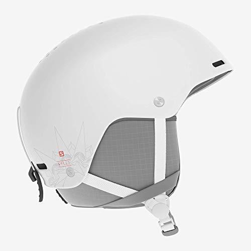Salomon Spell, Casco da Sci e da Snowboard, Regolabile Donna, Bianco, M (56-59 cm)