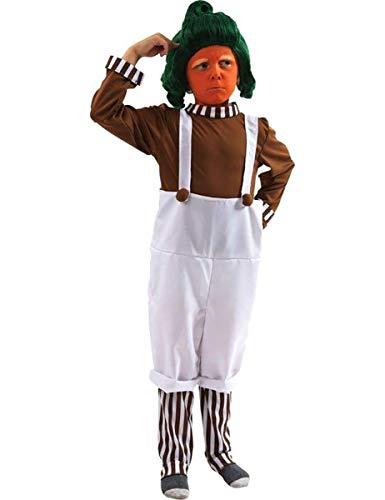 ORION COSTUMES Disfraz de Trabajador de Fábrica de Chocolate de Película Día Mundial del Libro para Niños