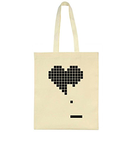 IDcommerce Heart Shaped Ping Pong Game Design Tote Bag