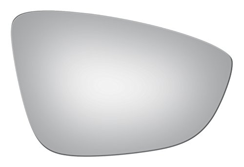 Burco 5385 Convex Passenger Side Power Replacement Mirror Glass (Mount Not Included) Compatible with 09-16 Volkswagen CC 2009-2016 Volkswagen Eos 12-15 Volkswagen Jetta 13-16 Volkswagen Passat