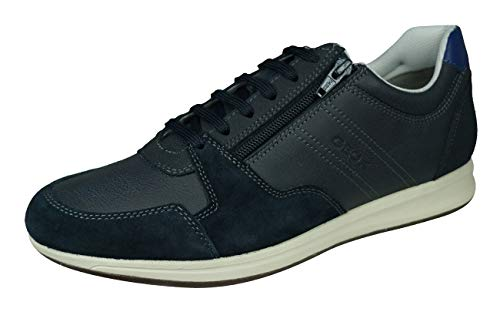 Geox Hombre Zapatos de Cordones U Avery, de Caballero Calzado Deportivo,Zapato con...