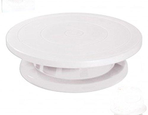 TORTENPLATTE drehbar 27,5 cm Kuchenplatte Tortenständer Drehteller Cake Decorating Fondant Ausstecher Modellierwerkzeug