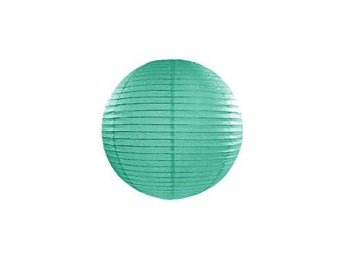 5 pièces lampe lanterne papier de jardin vert 25 cm équipement fêtes party