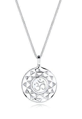 Elli Halskette Damen Yoga Talisman Om Mantra in 925 Sterling Silber