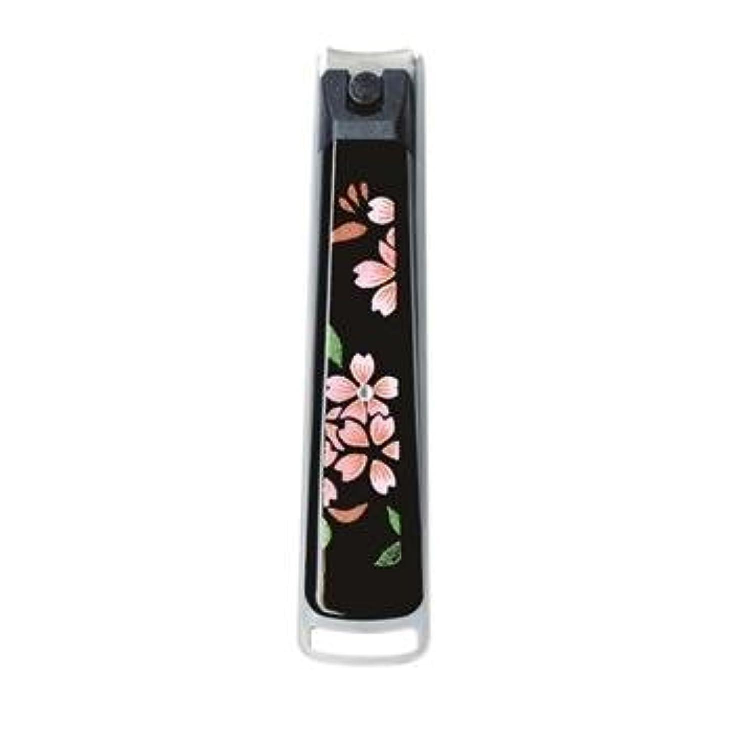 残るペインティング誓い紀州漆器 22-82-7B 蒔絵ミニ爪切り 紙箱入り サイズ 1.3×7.3×1.8cm