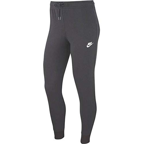 Nike Womens W NSW Essntl Pant Tight FLC Sweatpants, Black/White, L