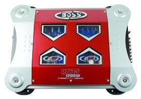Boss r635, MOSFET de 2canales Power Amplifier, 2x 200W RMS @ 4ohmios,...