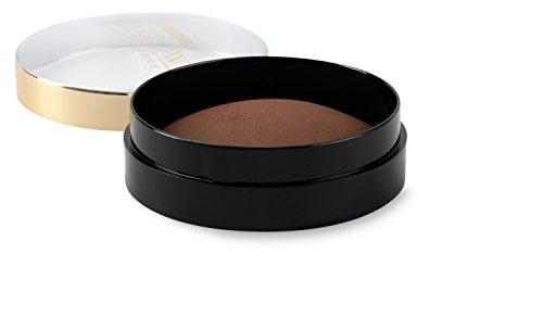 Medis Sun Glow Compactpuder, Puder-Dose mit Auftrage-Schwämmchen, 12 g, dunkler Farbton