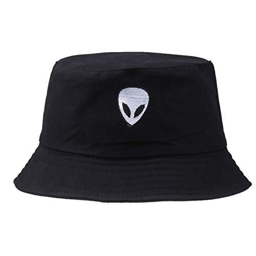 Bucket Hat Alien Stickte Fischer Cap Outdoor-Hut Sun UV Hüte Für Reisen
