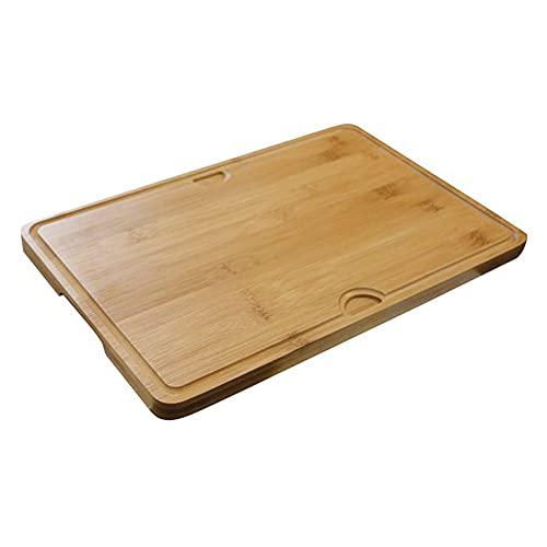 Planche à Découper en Bambou - 2 Côtés Utilisables - Cook'In Garden