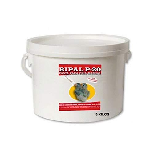 Bipal P-20 5kg, (Pasta para cría Manual de pichones). para agapornis y Otros pájaros