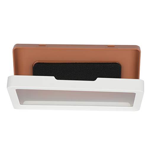 LSAR Dusch-Telefonzelle, Universal-Telefonhalter, für Duschbad(White)