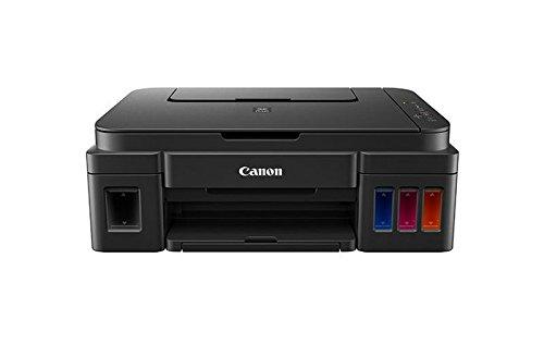 Canon PIXMA G2501 MegaTank Drucker nachfüllbares Tintenstrahl Multifunktionsgerät DIN A4 (Scanner, Kopierer, 4.800 x 1.200 dpi, 3in1, USB, große Tanks, hohe Reichweite, niedrige Seitenkosten) schwarz