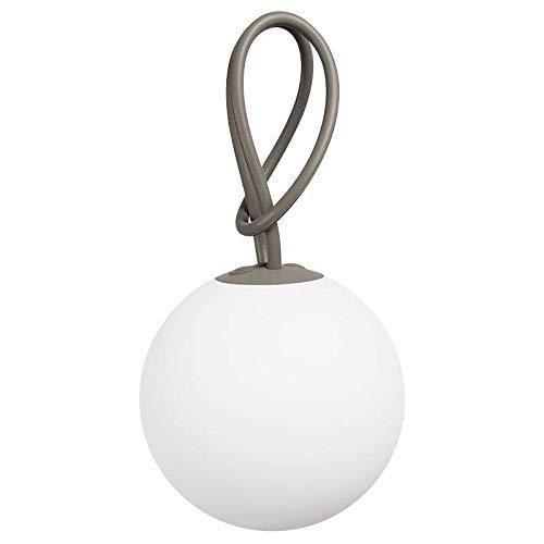 Fatboy® Bolleke taupe | Hängelampe für Innen & Außen | ohne Kabel | aufladbar mit USB | 20 x 20 x 100 cm