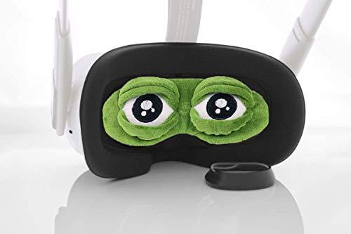 BMTick Mad Frog Objektivschutz für das Oculus Quest 2 VR Headset (mit Reinigungstuch)