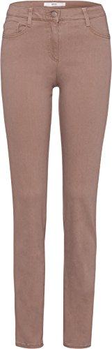 BRAX Damen Style Shakira Skinny Jeans, Sand, W32 / L34 (Herstellergröße: 42L)
