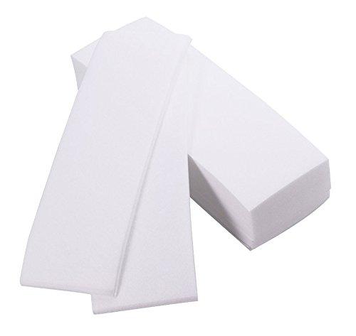 Crisnails - Bandas de Papel para Depilación con Cera, 1 Paquete (100 Unidades)