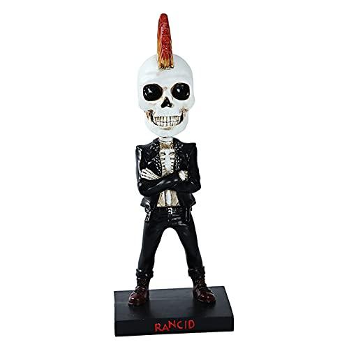 Aoten Shooking Head Ornaments Doll Skull Cartoon Car Ornaments Children's Toys Interior Accessories