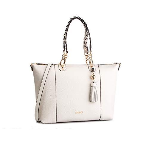 Liu.jo - 30000 shopping bag bone N19262E0086