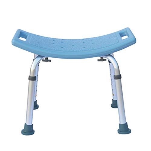 Z-SEAT Taburete de Ducha Multiusos Silla de Ducha Ajustable en Altura Taburete de baño Banco de Tabla de baño Silla de baño MAX 150 kg Antideslizante