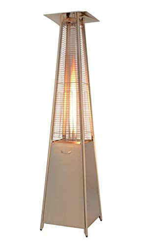 Cotton Life Outdoor Gas Patio Heater - Pyramid Flame Heater 13KW