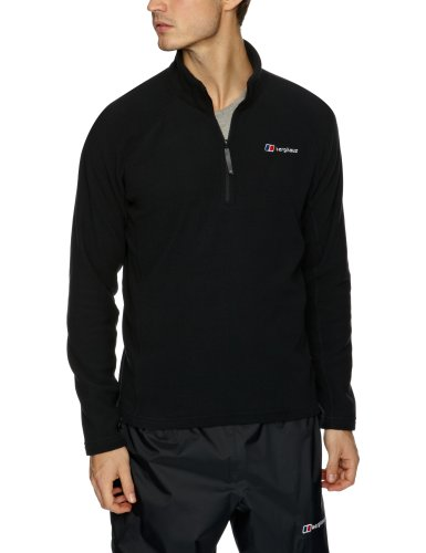 Berghaus Herren Fleece Arnside Jacket H-Zip, Black, M