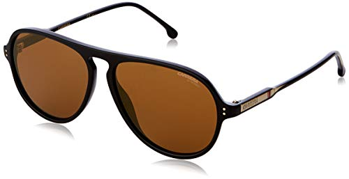 Carrera 198/S Gafas, Black/Gd Oro, 57 Unisex Adulto